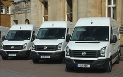 Volkswagen Commercial Vehicles is offering a range of contract hire and finance lease offers on the facelifted new Crafter, starting from £309 per month ex VAT