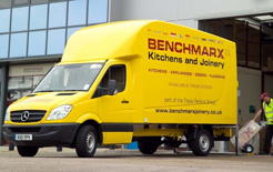 The Bevan ICON body was developed with the help of Cranfield University shown here on Mercedes Sprinter chassis
