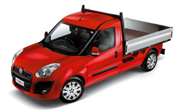 Fiat Professional Doblo Cargo Work Up with dropside body revives market for small pick-ups