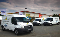 Ford is taking its van range directly to small business customers with the B&Q TradePoint initiative