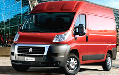 New facelifted Fiat Ducato panel van also features revised Euro 5 compliant engines for lower operating costs
