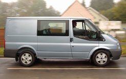 Ford Transit double-cab-in-van