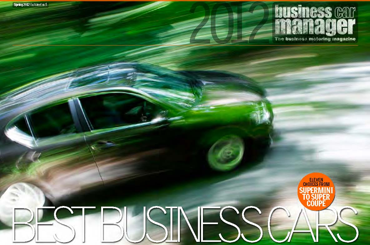 Best Company Cars For 2012 Business Car Manager