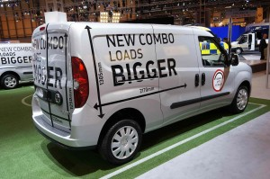 Vauxhall Combo at the CV Show