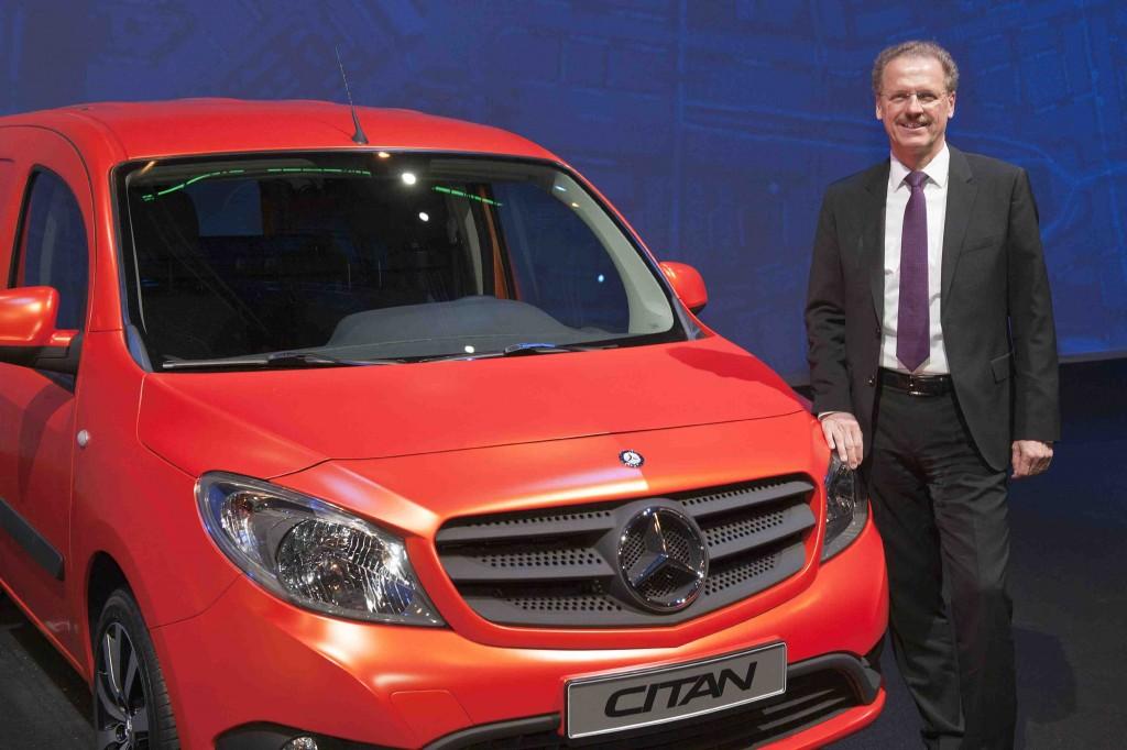 Volker Mornhinweg and the Mercedes Citan van