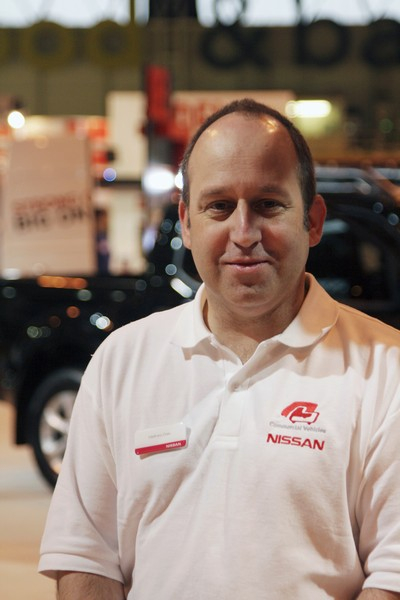 Matthew Dale, Nissan's new national LCV sales manager