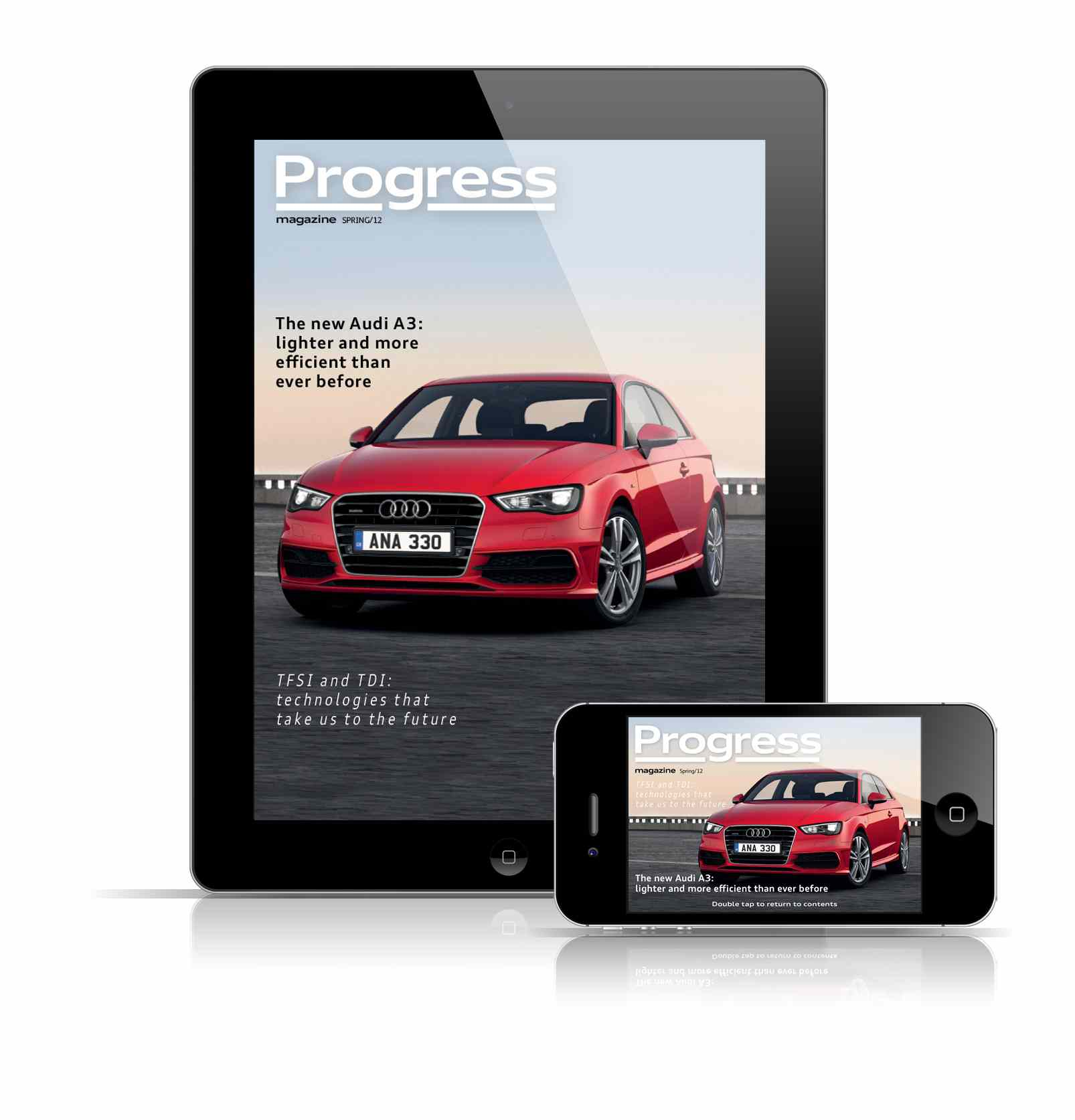 Audi fleet 39 s magazine is now an iphone app from the apple for Hyundai motor finance app