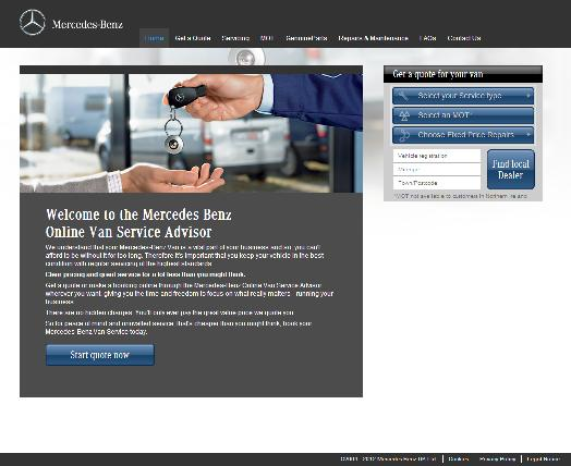 Mercedes benz launch star service site business car manager for Mercedes benz financial services jobs