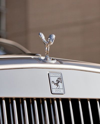 Rolls Royce Olympic rad badge