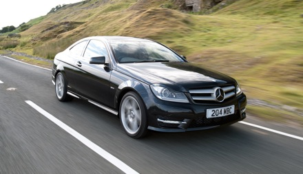 new entry level c-class coupe cuts business car costs | business