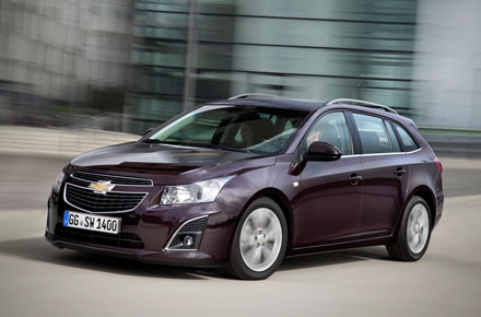 chevrolet cruze 1 7 diesel estate competent good value company car business car manager. Black Bedroom Furniture Sets. Home Design Ideas