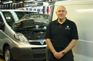 Mike Wright, Vauxhall