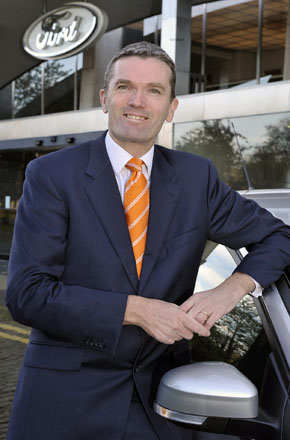 Phil Hollins, new fleet director at Ford from January 2013