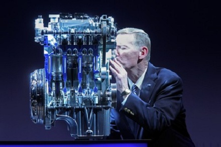 Alan Mulally and 1.0 EcoBoost engine