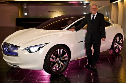 Colin Dodge and the Nissan Etherea concept car