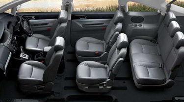 Ssangyong rodius car review business car manager for Ssangyong rodius interior