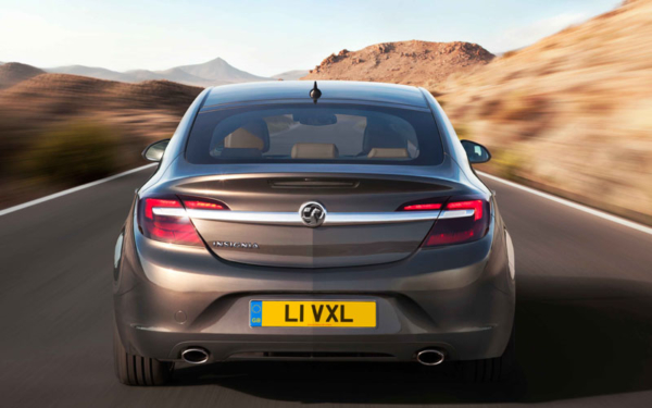 New Insignia rear view action