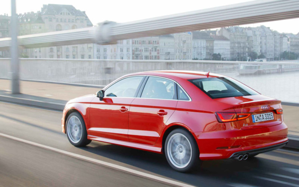 AUDI A3 Saloon action