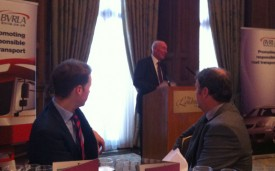 Paul Huxford at the BVRLA leasing broker luncheon