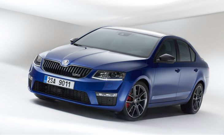 The Skoda Octavia vRS