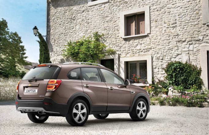 The revised Chevrolet Captiva