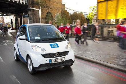 Smart fortwo mhd car2go
