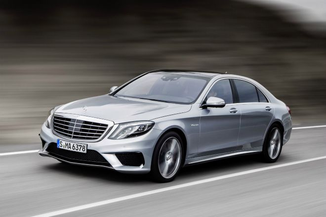 The Mercedes S 63 AMG