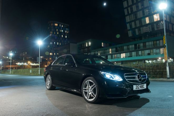 The Mercedes E 350 BlueTEC