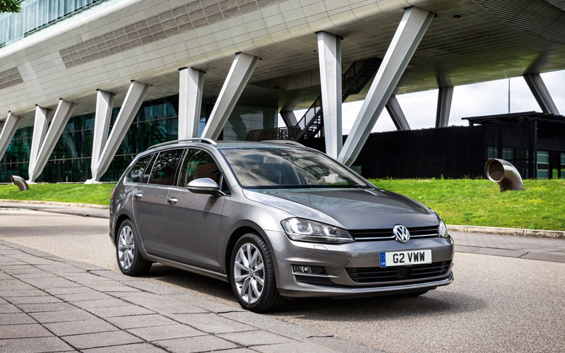 All New Vw Golf Estate Business Car Manager