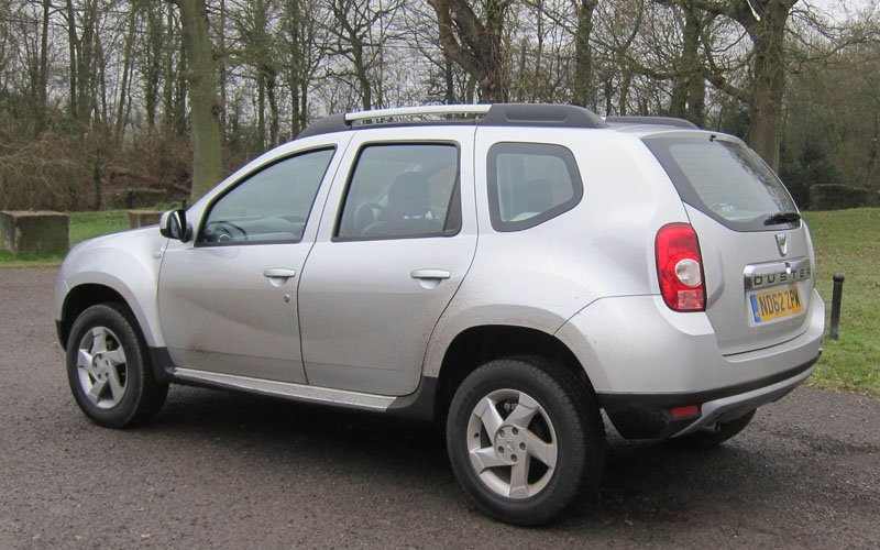 dacia duster car review the return of the affordable suv business car manager. Black Bedroom Furniture Sets. Home Design Ideas