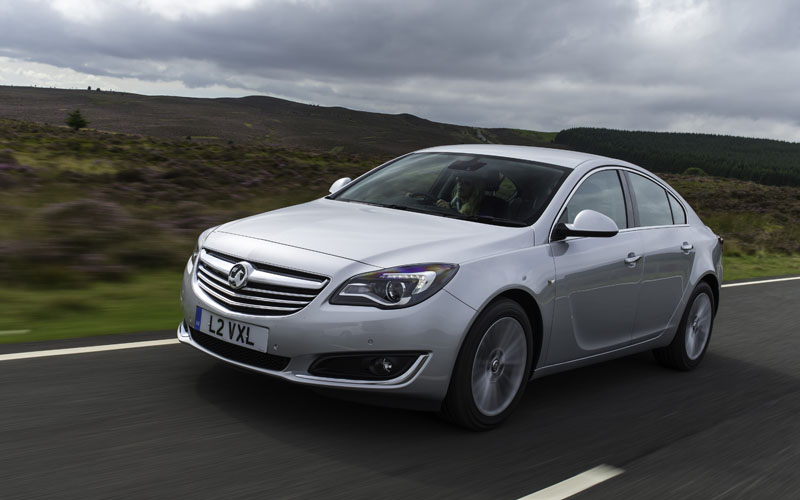659_Vauxhall_Insignia_99g km_Front_action