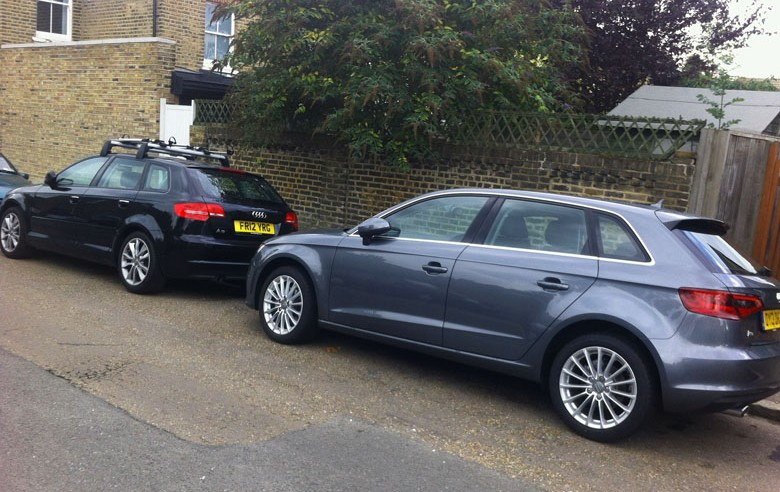Audi A3 Sportback Old And New Business Car Manager