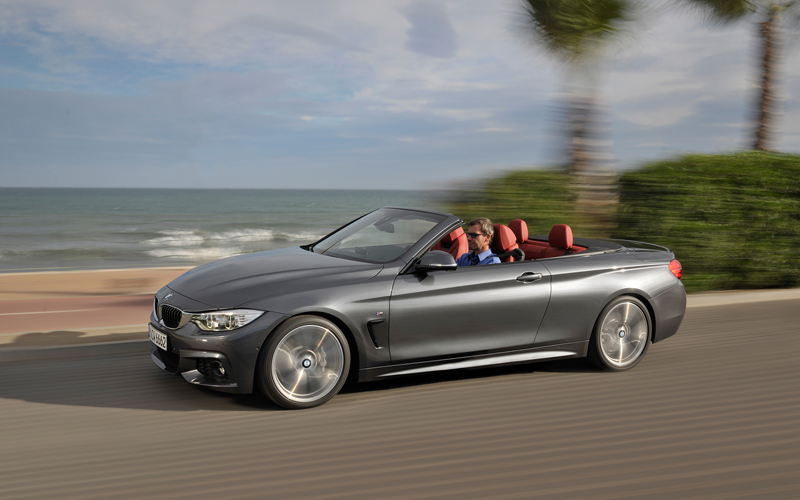 bmw 4 series convertible lines up with the new coupe. Black Bedroom Furniture Sets. Home Design Ideas