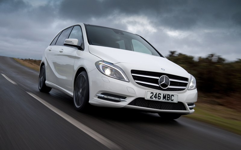 mercedes b class review business car manager. Black Bedroom Furniture Sets. Home Design Ideas