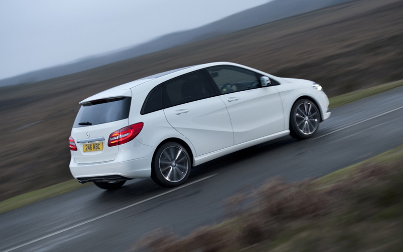 Mercedes b class review business car manager for Mercedes benz b class review