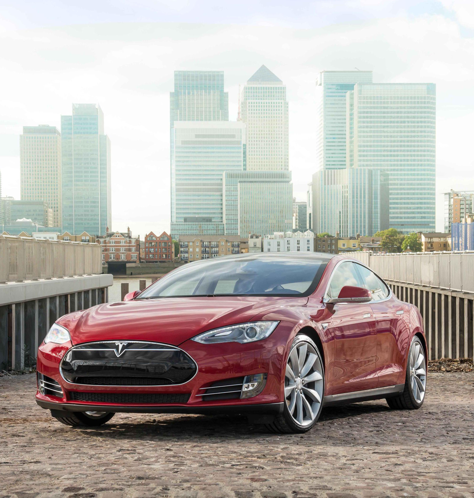 Electric Tesla Model S On Contract Hire