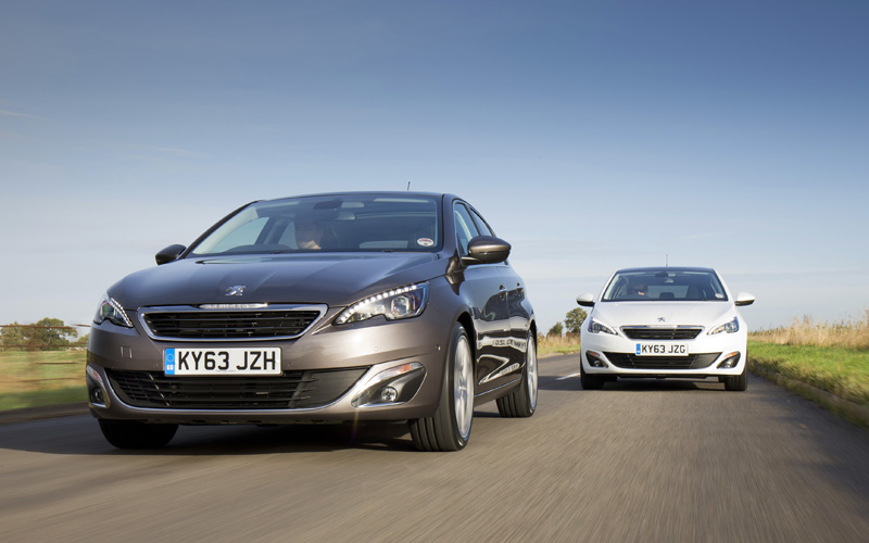 new low emissions engines for the peugeot 308 business. Black Bedroom Furniture Sets. Home Design Ideas