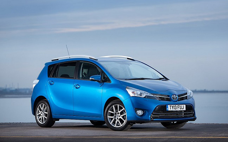 New Toyota Verso 1 6 Diesel Powered By Bmw Business