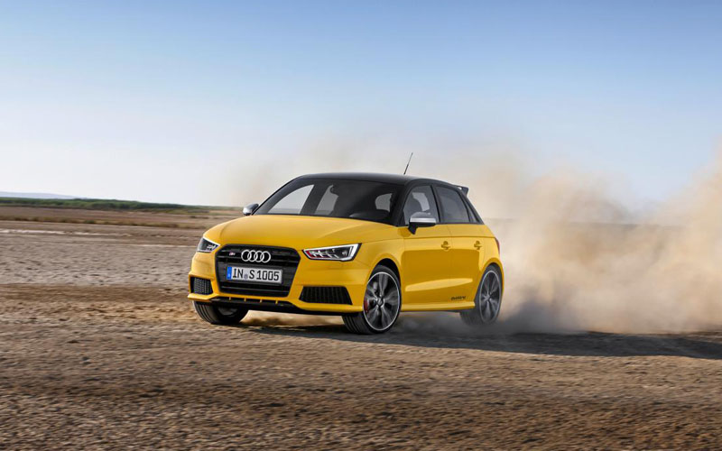 speedy audi s1 is smallest quattro yet business motoring. Black Bedroom Furniture Sets. Home Design Ideas