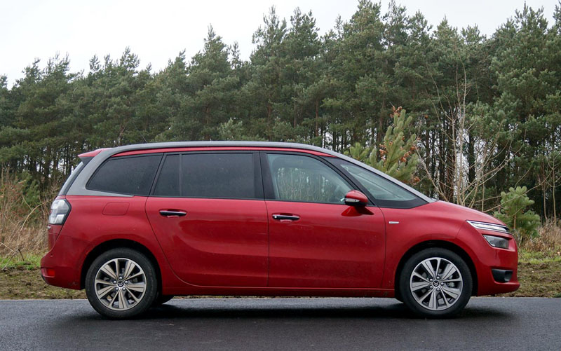 citroen grand c4 picasso car review smart 7 seater that. Black Bedroom Furniture Sets. Home Design Ideas