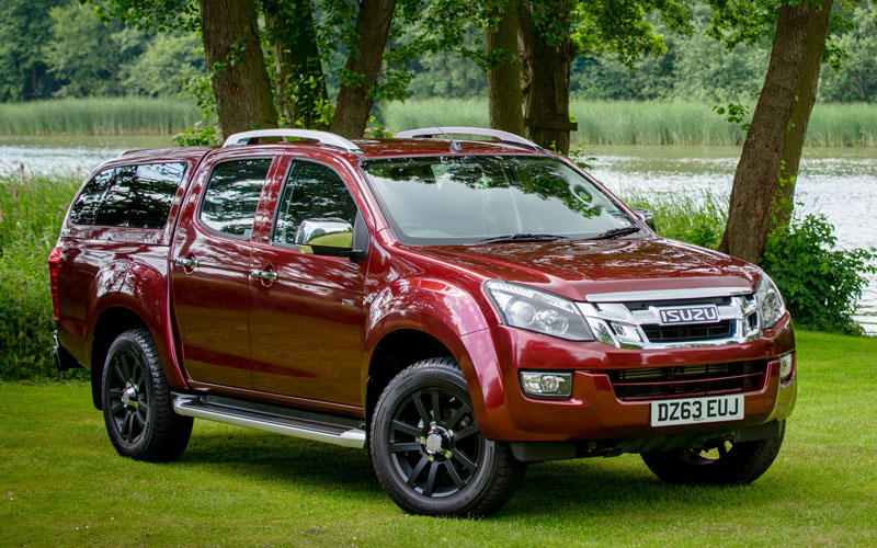 Isuzu D Max Utah Pick Up Review Business Car Manager