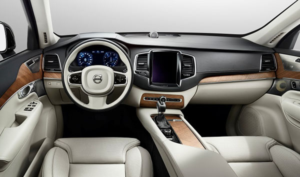 First interior shots of the new Volvo XC90