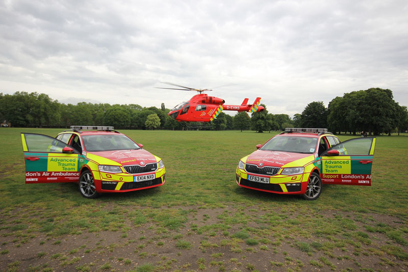 London Air Ambulance and_ SKODA