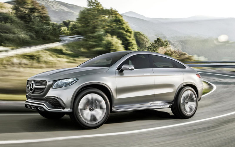 Mercedes Unveils Bmw X6 Rival Business Car Manager