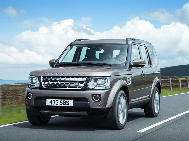 Land Rover, Discovery, 2015 model years changes