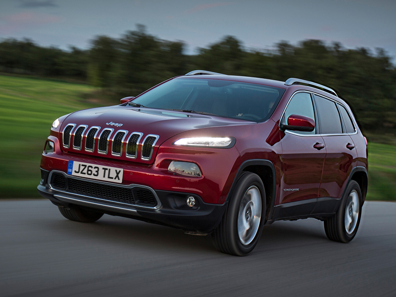 Jeep, Cherokee, moving