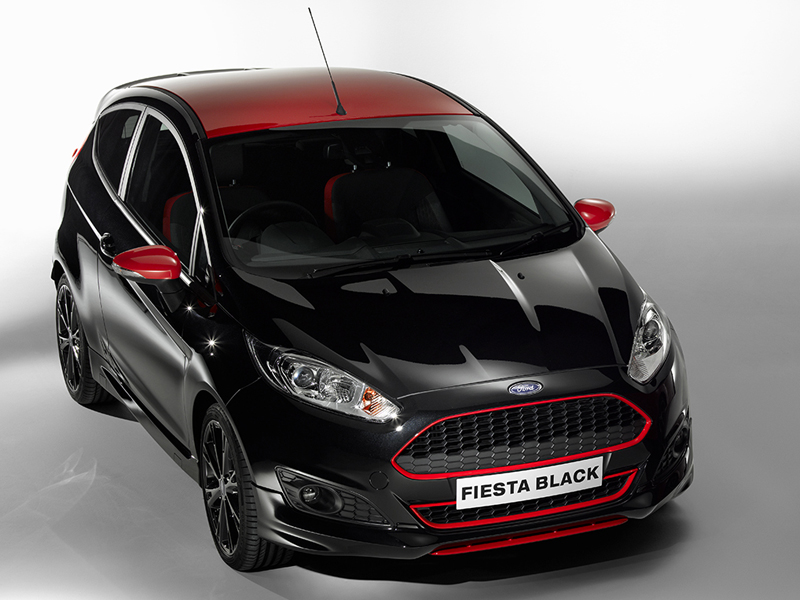 editor s view ford fiesta black and red editions business car manager. Black Bedroom Furniture Sets. Home Design Ideas