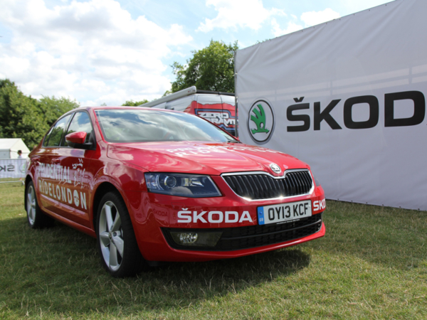 Skoda, Octavia, ride, London