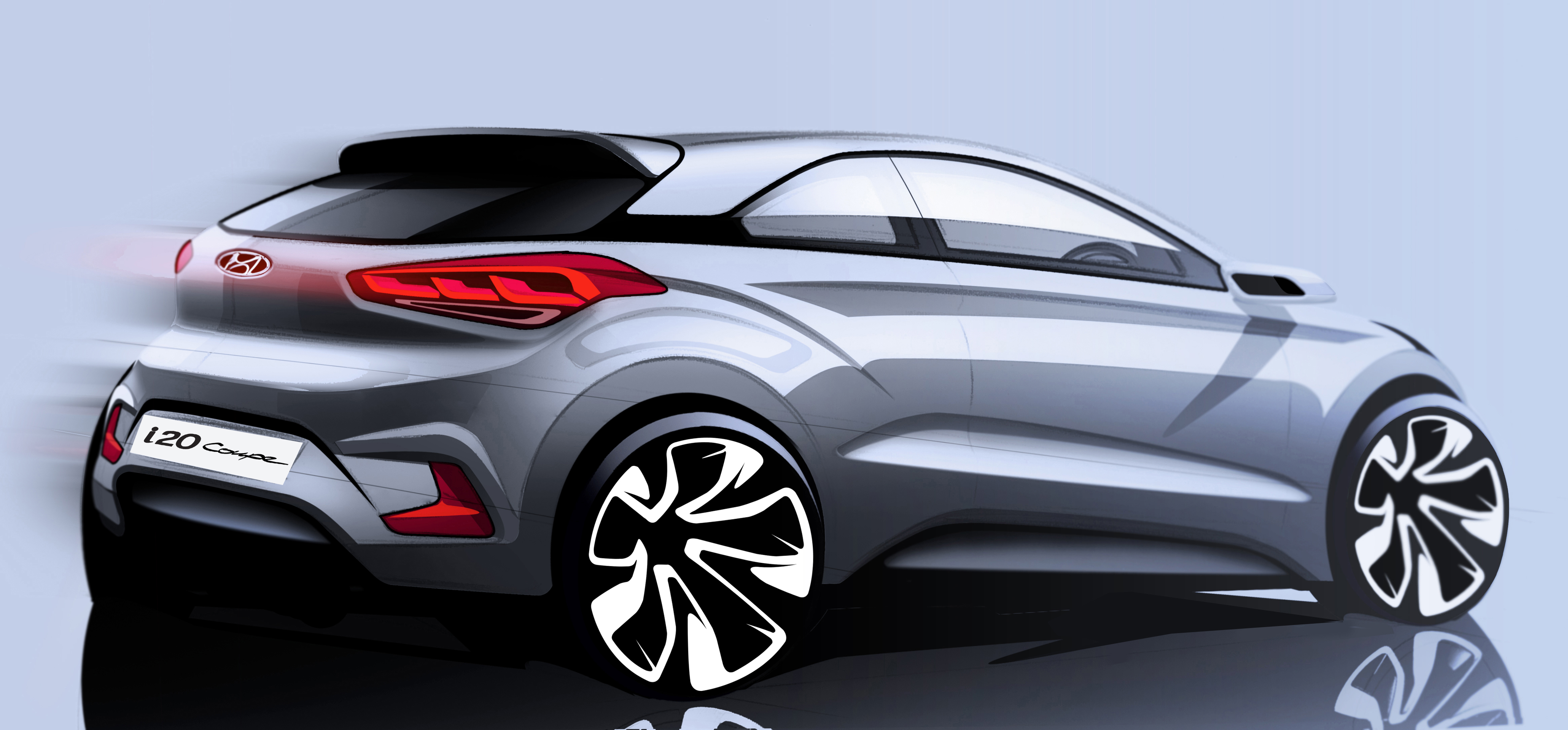 racy hyundai i20 coupe revealed business car manager. Black Bedroom Furniture Sets. Home Design Ideas