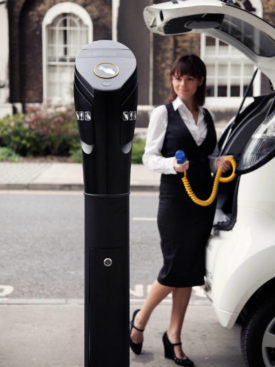 POD Point Electric Vehicle Charging Infrastructure